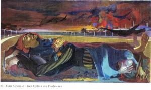 Hans Grundig - Den Opfern des Faschismus - Gemälde von 1946